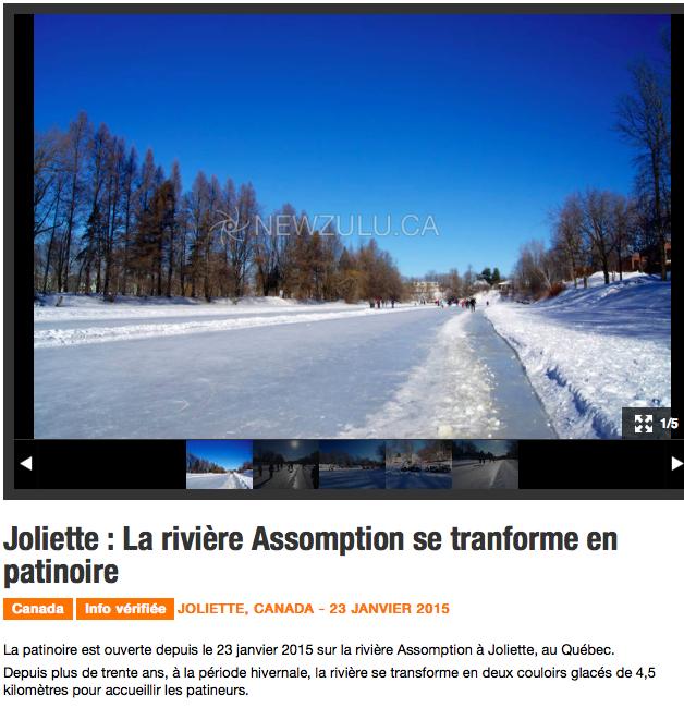 Joliette - patinoire