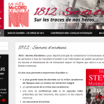 Site web WordPress du Musée Stewart