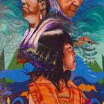 Fresque amérindienne